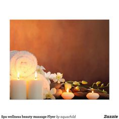 Spa wellness beauty massage Flyer