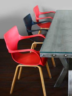 Warhol Chair (Red) by Bent Chair