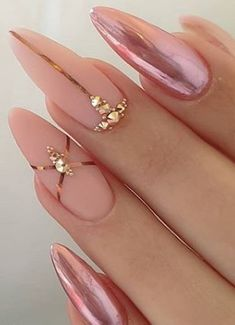 nails, You can collect images you discovered organize them, add your own ideas to your collections and share with other people. Acrylic Nail Designs, Nail Art Designs, Nails Design, New Year's Nails, Gel Nails, Opi, Classy Acrylic Nails, Types Of Nails, Summer Nails