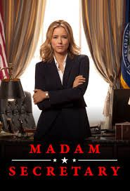 Madam Secretary- sky living. Liking this show and her outfits