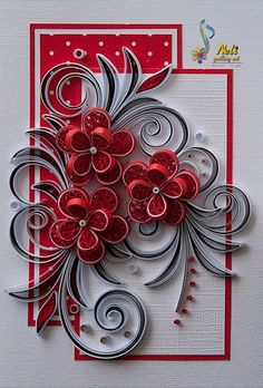 Neli is a talented quilling artist from Bulgaria. Her unique quilling cards bring joy to people around the world. Neli Quilling, Paper Quilling Cards, Quilling Work, Paper Quilling Tutorial, Paper Quilling Patterns, Origami And Quilling, Quilled Paper Art, Quilling Craft, Quilling Christmas