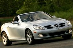 Mercedes-Benz SLK-Class SLK280 -  Coming in at just under $17k on this listing, you'd have to be nuts to not even consider it. It's got the looks, the style, and the pizzazz to suit any kind of driver. Check it out http://www.ebay.com/gds/10-Cars-You-Didnt-Know-You-Could-Afford-/10000000178502489/g.html?roken2=ta.p3hwzkq71.bsports-cars-we-love #Mercedes #spon #Cheap