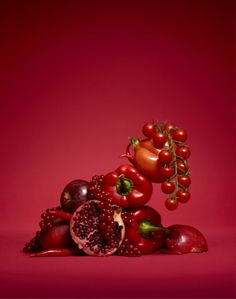 Red Vegetables and Fruits | Vanessa Sur Mac