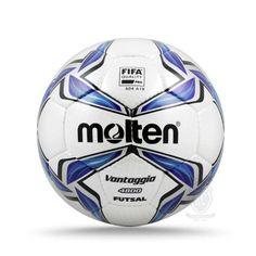 Bola Futsal Molten F9V4800 yang dibuat dengan approval FIFA quality pro ini  memastikan anda akan mendapatkan pengalaman profesional dalam setiap  permainan. 20477a16b4c2c