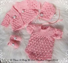 Baby and Doll Hand Knit Designs for Sale 12 Inch Doll Clothes, Baby Alive Doll Clothes, Girl Doll Clothes, Baby Dolls, Knitting Dolls Clothes, Crochet Doll Clothes, Doll Clothes Patterns, Knitted Girl Doll, Knitted Doll Patterns