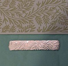 Liz Barnes on Jewelry and Supplies: TEXTURE WITH PAPER?