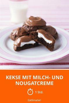 Kekse mit Milch- und Nougatcreme - smarter - Zeit: 1 Std. | eatsmarter.de