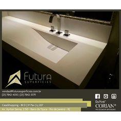 #corian #cubaonda #arquitetura #designinteriores #designinterior #casashopping #futurasuperficies #banheiro #suitemaster