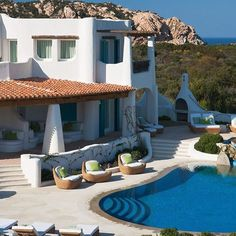 Villa Turchese, Porto Cervo, Sardinia, Italy.  Get Inspired, visit: www.travliving.com Follow @mrfashionist_com  #awesome #beautiful #travel #amazing #luxury #love #travliving #hotel #resort #holiday #lifestyle