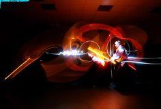 lightpainting / Aikido