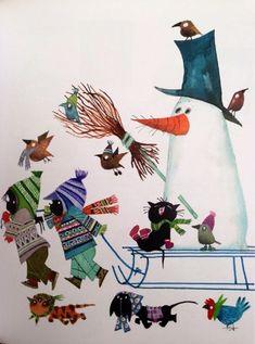 imagenes de invierno para niños infantiles