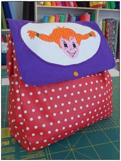 Kindergartenrucksack Kindergarten, Retro, Bunt, Lunch Box, Backpacks, Vintage, Kindergartens, Bento Box, Backpack