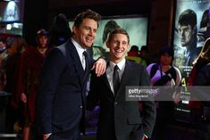 LONDON, ENGLAND - MARCH 09:  Channing Tatum and Jamie Bell (R) attend the UK premiere of 'The Eagle' at The Empire Cinema on March 9, 2011 in London, England.  (Photo by Mike Marsland/WireImage)