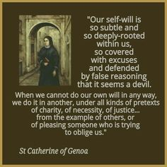 St. Catherine of Genoa Prayer | St. Catherine of Genoa