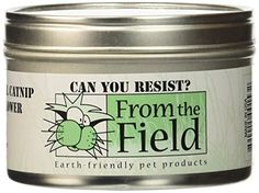 From The Field 1Ounce Can You Resist Catnip Leaf and Flower Tin Can ** Read more reviews of the product by visiting the link on the image.