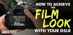 "Ever wanted to know the mysteries of creating an amazing ""film look"" with your DSLR camera? Well we go into the deep end and share secrets on how to..."