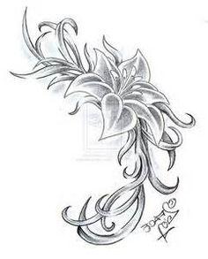 Tatouages de fleur de glaïeul La fleur de glaïeul and Glaïeuls on ...