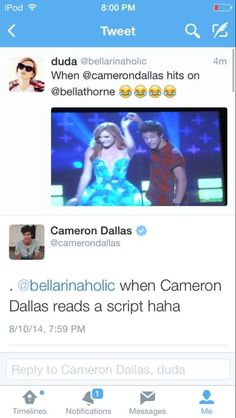 Lol, I love you Cam<3
