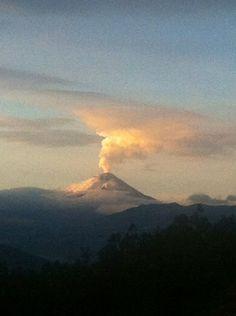 El volcán Cotopaxi hoy 2015/9/21