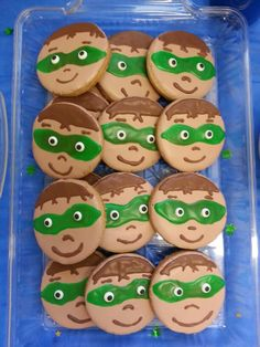 Super Why Theme cookies. Eyes too small but other than that they looked good.
