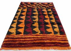 Vintage Turkish Kilim Rug Carpet Handmade   KONYA by chicethnic, $585.00