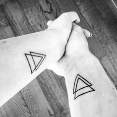 #engagedlife #couple #tattoo #triangle #inlove #blackandwhite #engagementring #for #ever #onceuponatime #geranteam #blackhousetattooprague