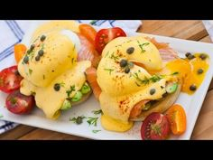 Smoked Salmon Eggs Benedict - Tatyanas Everyday Food