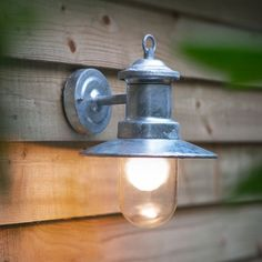 Buy Garden Trading St Ives Ships Light - Galvanised online with Houseology Price Promise. Full Garden Trading collection with UK & International shipping. Outdoor Wall Lighting, Exterior Lighting, Outdoor Walls, Modern Lighting, Lighting Ideas, Landscape Lighting, Balcony Lighting, Lighting Uk, Indoor Outdoor