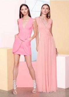 Astella Sleeveless Shirred Gown x Prom 2015 - #BCBGMAXAZRIA