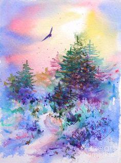 Warm Return Canvas Print / Canvas Art by Julie Schroeder