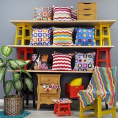 Crochê + Madeira é uma combinação muito amor! Tem tudo na Tadah! ❤️ www.tadah.com.br #tadahdesign #madeiramaciça #decoracao #decor #croche