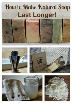 Make your natural soap go further with these simple suggestions!