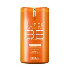 Super Plus Beblesh Balm Triple Function Orange BB Cream Yellow Beige fl. ml) - Rich Vitamin Complex Care Healthy and Vital Skin, High Coverage without Darkening Skin79 Bb Cream, Pink Beige, Citrus Lemon, Blemish Balm, Big Pores, Skincare For Oily Skin, Asian Skincare, Foundation, Alcohol