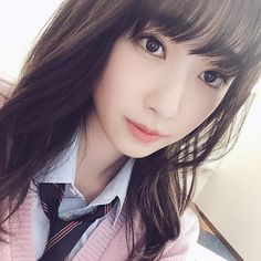 School Uniform Girls, High School Girls, Japanese School, Young At Heart, Image Collection, Pretty Face, Asian Beauty, Most Beautiful, Kawaii