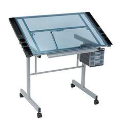 Vision Craft Station in Silver / Blue Glass Studio Designs http://www.amazon.com/dp/B0038D8N9G/ref=cm_sw_r_pi_dp_9hn7vb07JPB4Z