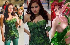DC Hera Venenosa referência cosplay