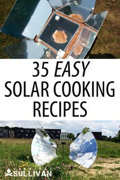 Delicious solar cooking recipes that are not just for survival situations. Each of them requires 10 or less ingredients from your stockpile. Emergency Preparation, Survival Prepping, Survival Skills, Emergency Preparedness, Survival Supplies, Oven Recipes, Cooker Recipes, Barbecue Recipes, Grilling Recipes