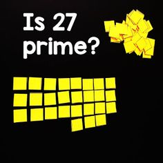 If your students struggle with the idea of prime vs. composite numbers, this hands-on investigation activity into prime numbers may be helpful, especially to the kinesthetic learners in your classroom. Education World, Science Education, Composite Numbers, Math Word Walls, Prime Numbers, Outdoor Education, Math Words, Environmental Education, Student Work