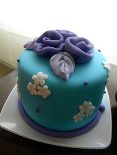 Blue Mini Cake