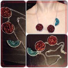 Handmade necklace #nespresso