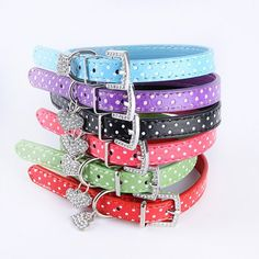 Solid Color Dog Collar