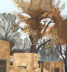 New Mexico Landscapes by Jill Watercolor Art Landscape, Landscape Drawings, Watercolor Sketch, Landscape Art, Landscape Paintings, Watercolor Paintings, Watercolors, Landscapes, Monochromatic Art
