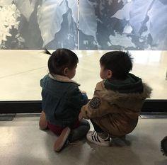 Cute Asian Babies, Korean Babies, Asian Kids, Cute Babies, Father And Baby, Dad Baby, Baby Kids, Mother Son, Cute Little Baby