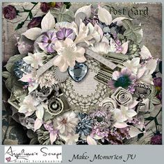 Artistic Creative Designs : New in stores Angelique Scraps newest kit Make Mem...
