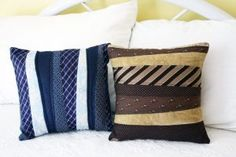 9 DIY Projects To Do With Dad's Old Ties | Canadian Home Trends