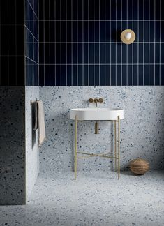 A little splash of Terrazzo loveliness to brighten your day Our tagged feed is looking rather sunny at the. House Interior, Terrazzo, Bathroom Interior Design, Bathroom Decor, Mandarin Stone, Bathroom Design, Matt Porcelain Tiles, Terrazzo Tile, Tile Bathroom