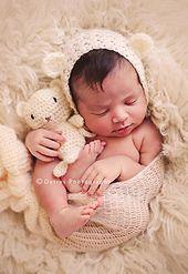 Paid pattern     Crochet pattern Teddy Bear Bonnet and teddy plush