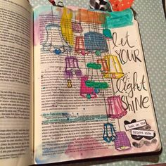 Let your light shine - Bible journaling
