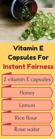 Vitamine E Capsules For Face Beauty Care, Beauty Skin, Beauty Hacks, Beauty Tips, Beauty Products, Diy Beauty, Face Beauty, Beauty Ideas, Natural Products
