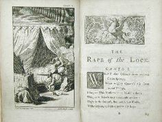 The rape of the Lock - Pope also found quoted in The Innocent English Restoration, English Projects, Find Quotes, Retelling, True Love, Literature, It Works, Novels, Romantic
